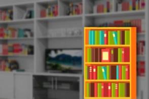 Desain Rak Buku Untuk Mempercantik Ruangan