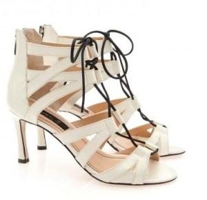 sandale albe siret