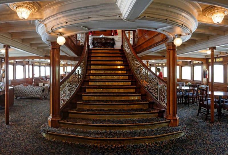 delta queen stairs
