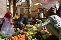 mercato alimentare a Jaisalmer