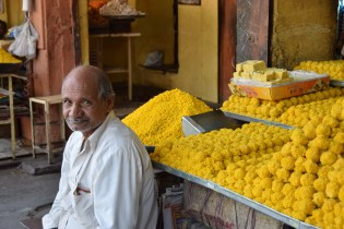 Venditore di dolci a Jaipur