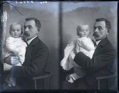 Way, father and son, 25 Nov 1908