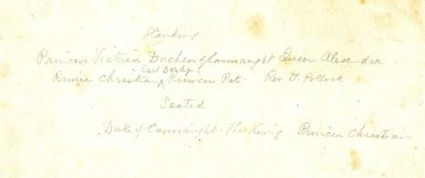 King Edward VII at country house get together back033