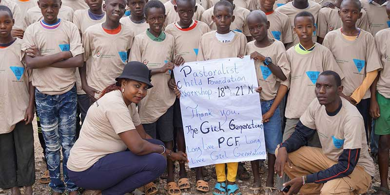 Empowering Samburu boys and teenagers