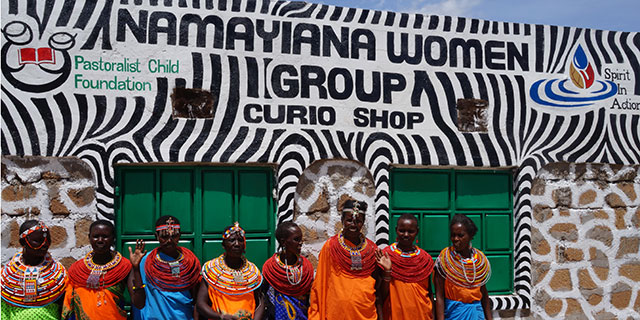 Jewelry and Artifacts Store opened by Namayiana Women's Self Help Group
