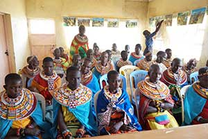 Empowerment Workshop in Wamba