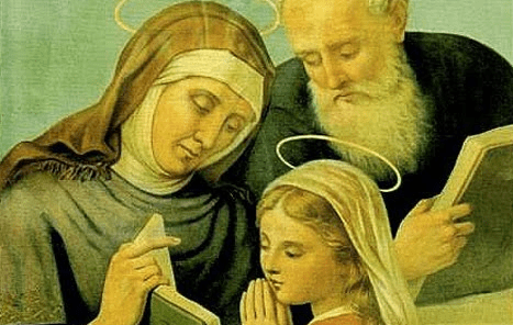 História de São Joaquim e Santa Ana