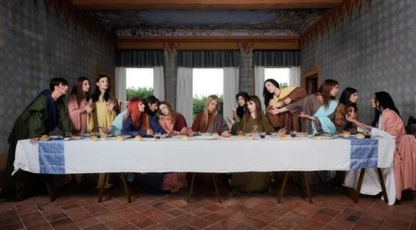 last supper women
