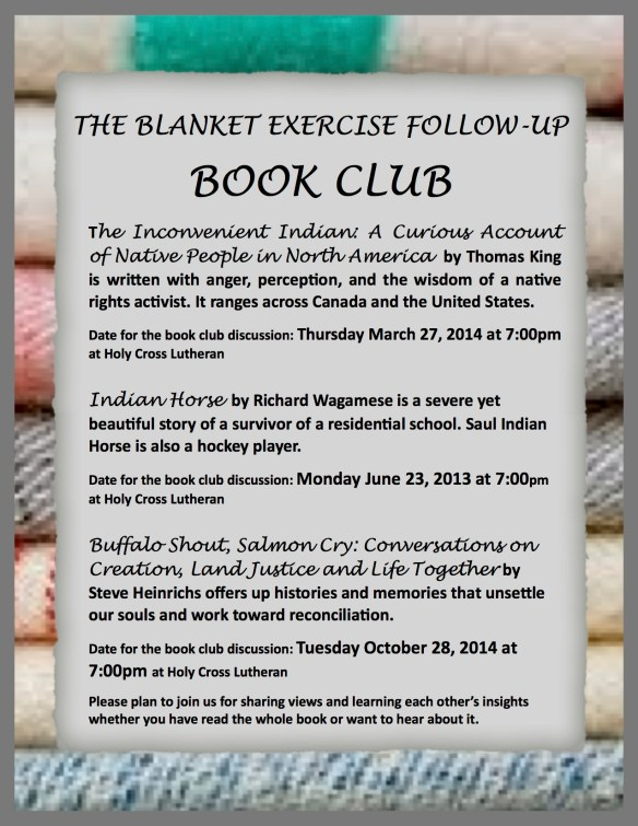 Blanket Exercise Book Club