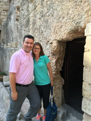 Kimberly and I at the Garden Tomb