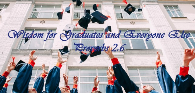 Graduates with Cap and gown for podcast title description