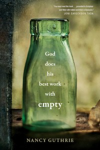 God Does His Best Work with Empty book