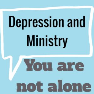 depression in ministry