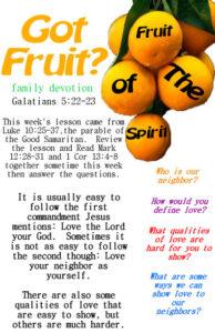 Fruit of the Spirit LOVE