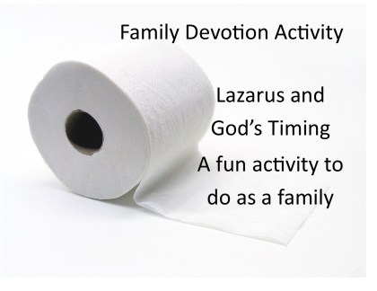 family devotion lazarus