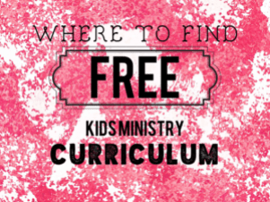 free kids ministry lessons