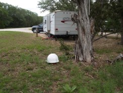 2012 - May Camping Trip - Satellite Dish