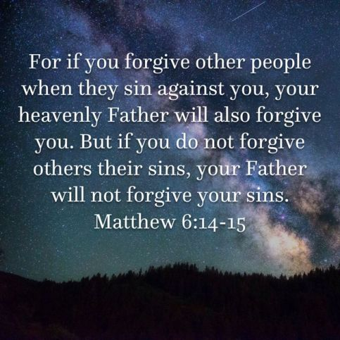 Forgiveness Pastor Unlikely