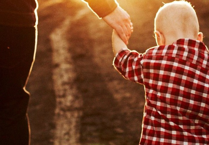 God holds our hand like a father to his child Pastor unlikely Christian Blog