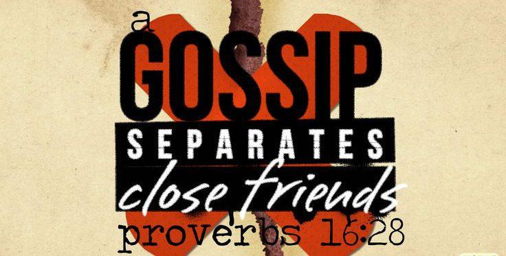 How do we stop Gossiping Pastor Unlikely