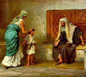 Hannah Giving Samuel to the Temple, Pastor Unlikely Christian Blog, Top Christian Blog