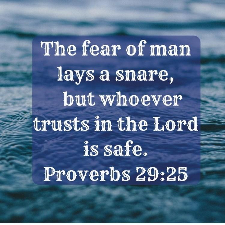 fear of man Pastor Unlikely