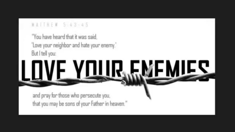 Love Your Enemies Pastor Unlikely