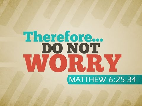 Sunday Morning Church:  Are You Filled with Worry?