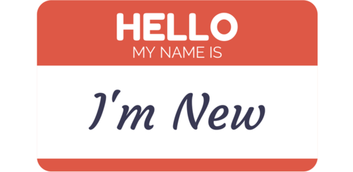 I'm New Button