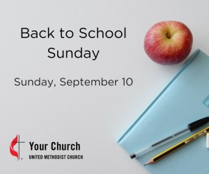 Back to SchoolSunday