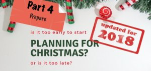 Part 4 Planning for Christmas - Featured