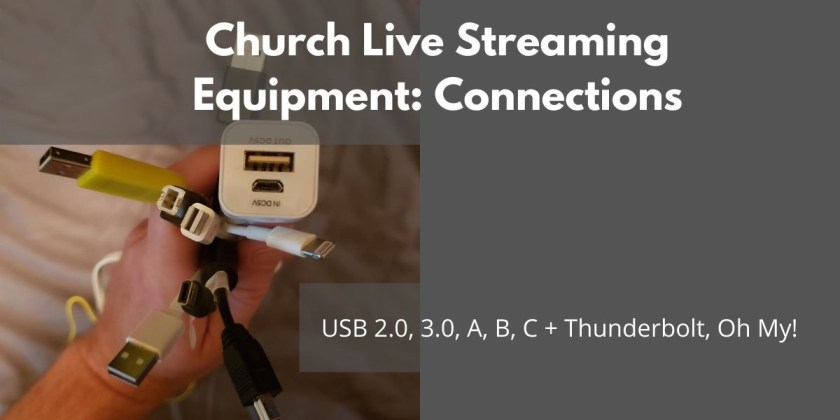 Church live stream connections banner