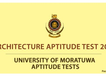 Architecture Aptitude Test 2012
