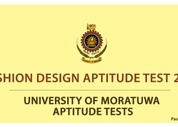 Fashion Design Aptitude Test 2016