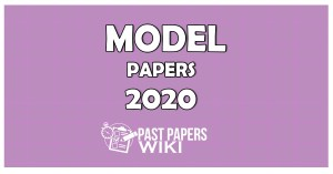 Advanced Level Model Paper in Sinhala Medium - 2020