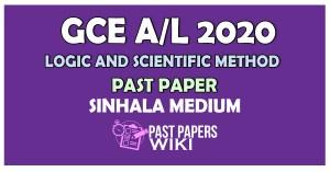 Logic and Scientific Method