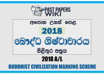2018 A/L BC Marking Scheme