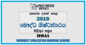 2019 A/L BC Marking Scheme | Sinhala Medium