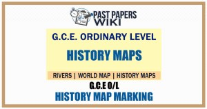 History Map marking Questions and Answers for GCE O/L Exam