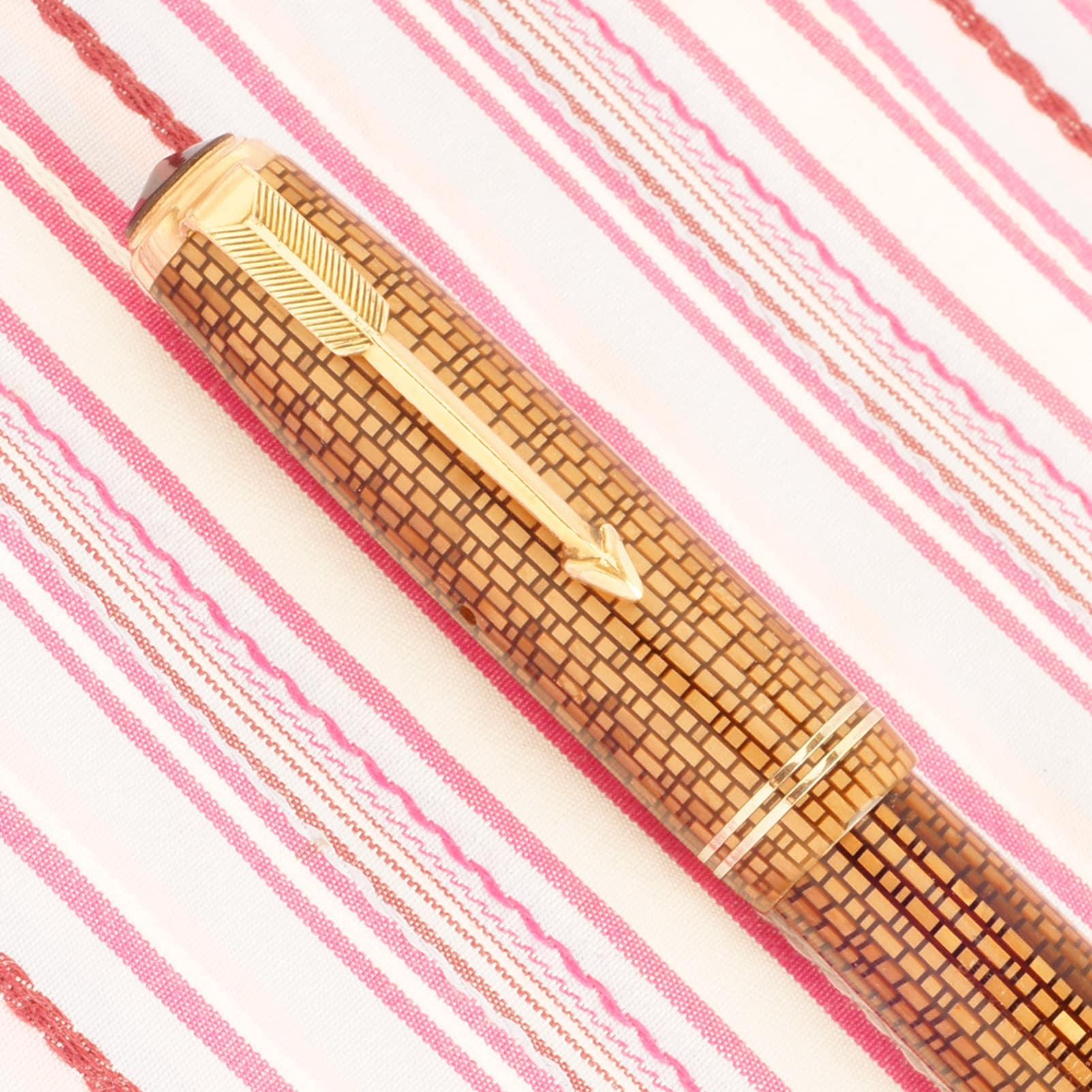 parker vacumatic gold web 2jewel pk225