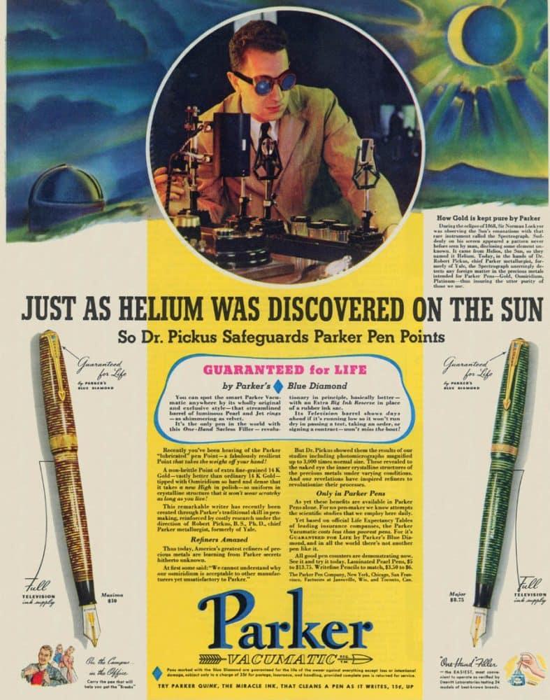 vintage parker vacumatic fountain pen