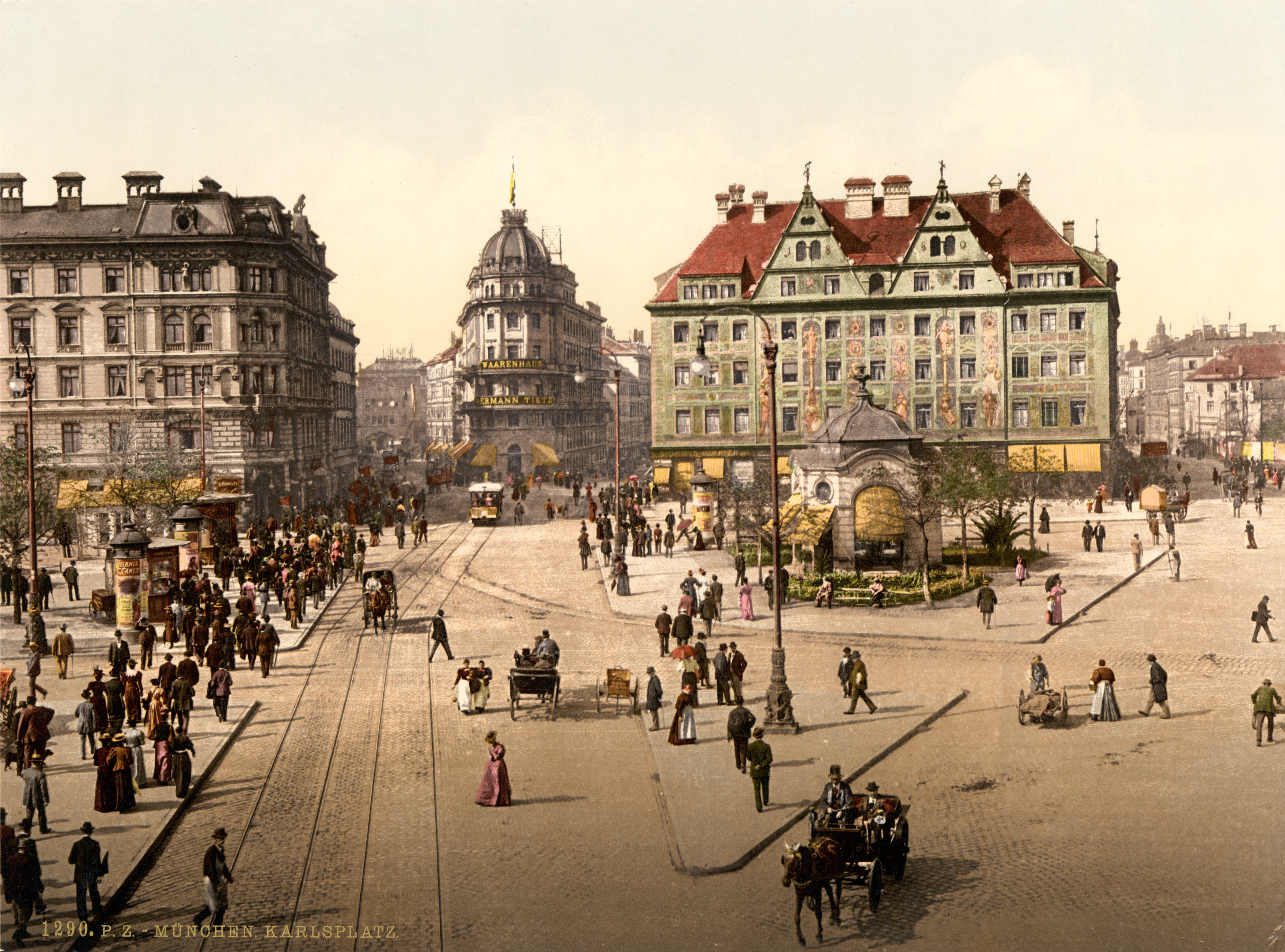 Bavarian Main Street  What's Past Is Prologue
