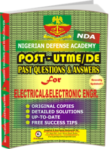 NDA Past UTME Questions for ELECTRICAL ELECTRONIC ENGINEERING