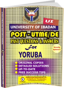 UI Post UTME Past Questions for YORUBA