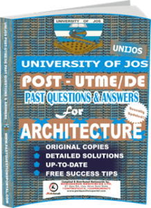 UNIJOS Past UTME Questions for ARCHITECTURE