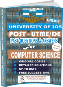 UNIJOS Past UTME Questions for COMPUTER SCIENCE