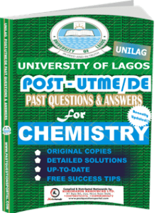 UNILAG Past UTME Questions for CHEMISTRY