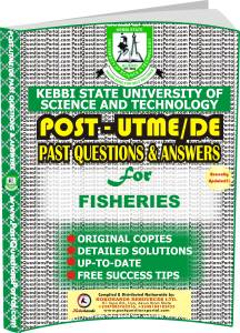 KSUSTA Post UTME Past Questions for FISHERIES