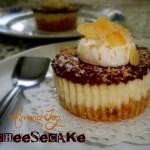 {Almond Joy Cheesecake} – Mini cheesecake cu migdale