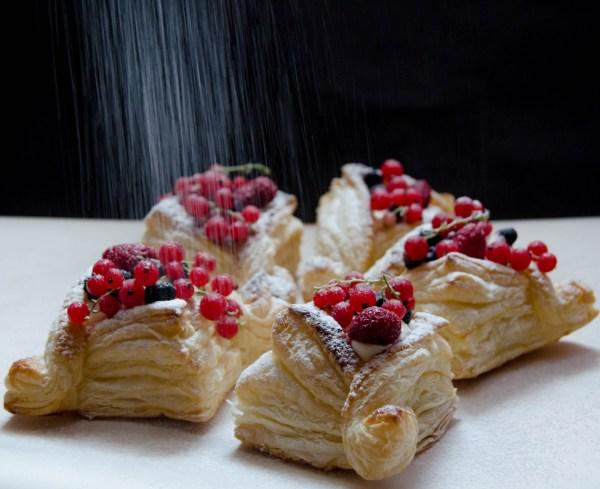 puff pastry tarts